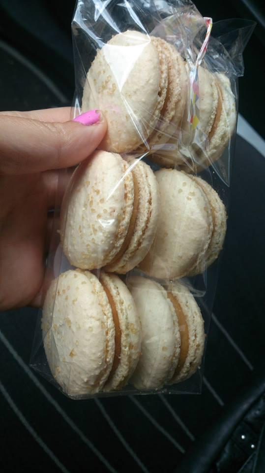 Degustační požitek - Moje láska makronky- slaný karamel