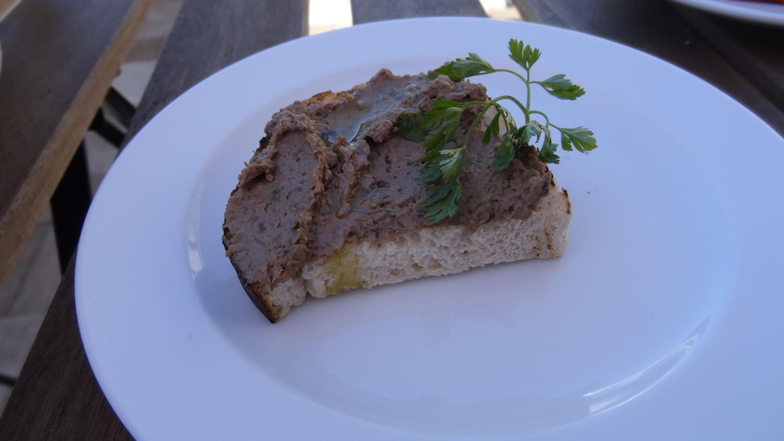 Degustační požitek - Bruschetta toscana