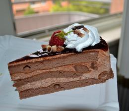 Šlehačkový dortík