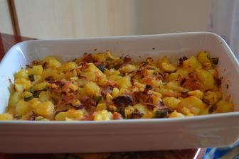Moje milované zapečené brambory
