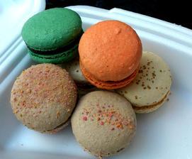 dnes Ledový kaštan, mléčná čokoláda, mandarinka a slaný karamel, jedno lepší než druhý