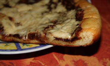 Hruškový frgálek, výborná snídaně, znala jsem jen makový a povidlový, takže tato příchuť mile překvapila