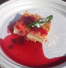 cheesecake ještě ze slavností jídel, taky nic moc bohužel