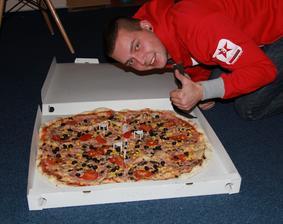 sice největší, ale bohužel fuj fuj pizza