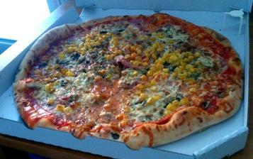 Konečně výborná pizza- od pappi