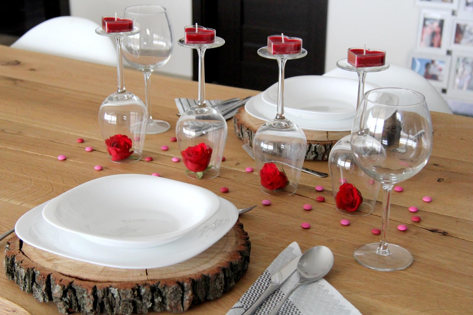 Dům snů ♥ - Valentýnské prostírání