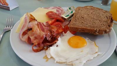 každodenní snídaně ta slaninka mi bude chybět