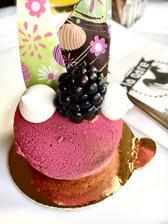 Čokoládový dezert perfektní jemný z La Gare