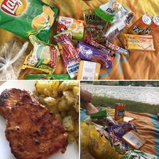 Kotletka a piknik na přehradě 😄😄