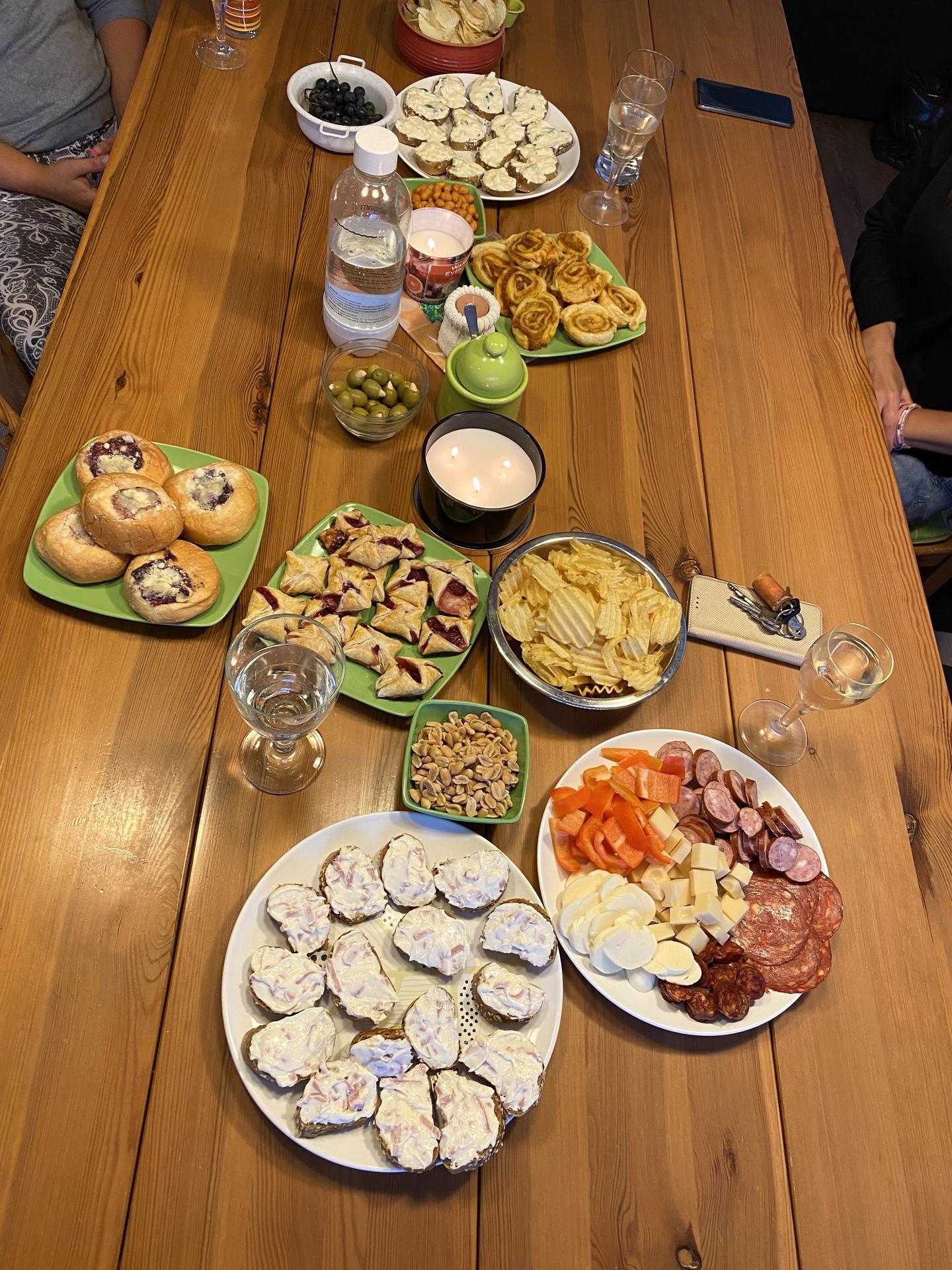 Degustační požitek - Ikdyž už půl roku bydlíme jinde, na sousedské dámské jízdy jezdím pořád😍