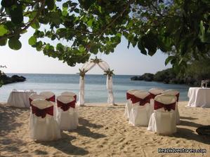 Obrad by bol na pláži, kde by romantika určite nechýbala