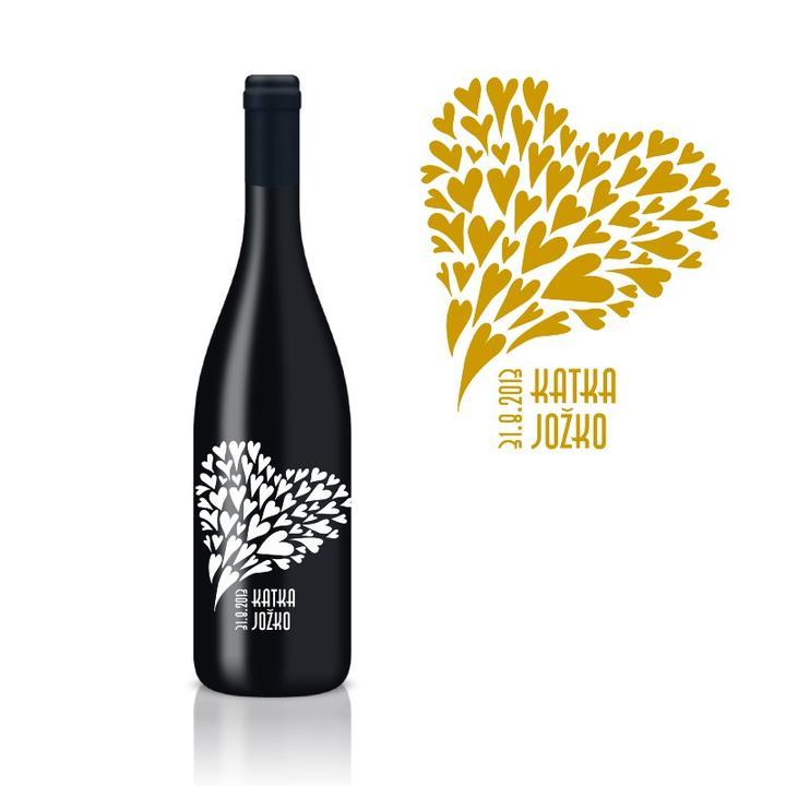 Takto plánujeme MY :) - naše etikety na vína do výslužiek..