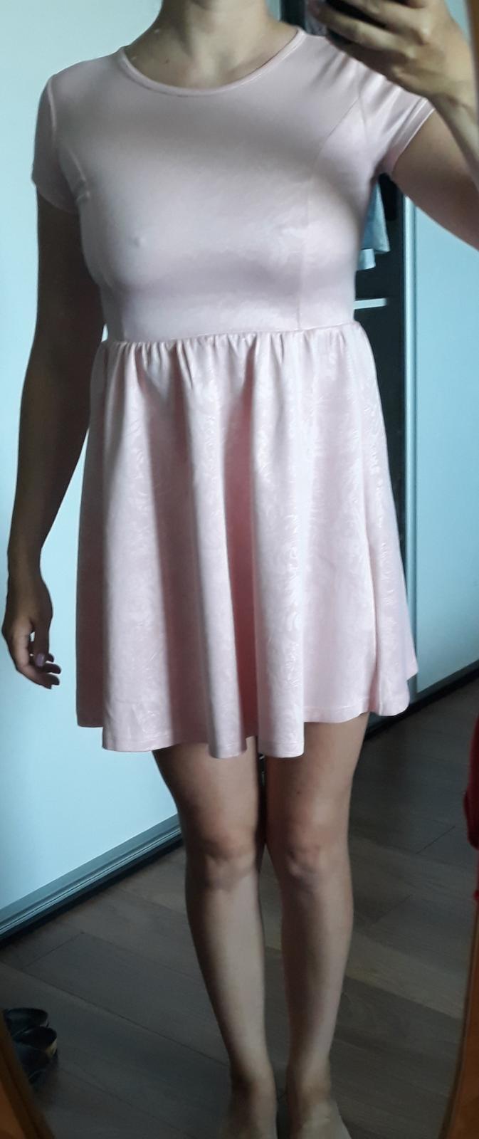 Ružové šaty F&F - Obrázok č. 2