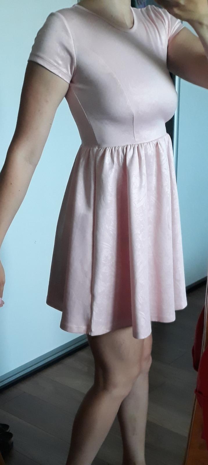 Ružové šaty F&F - Obrázok č. 1