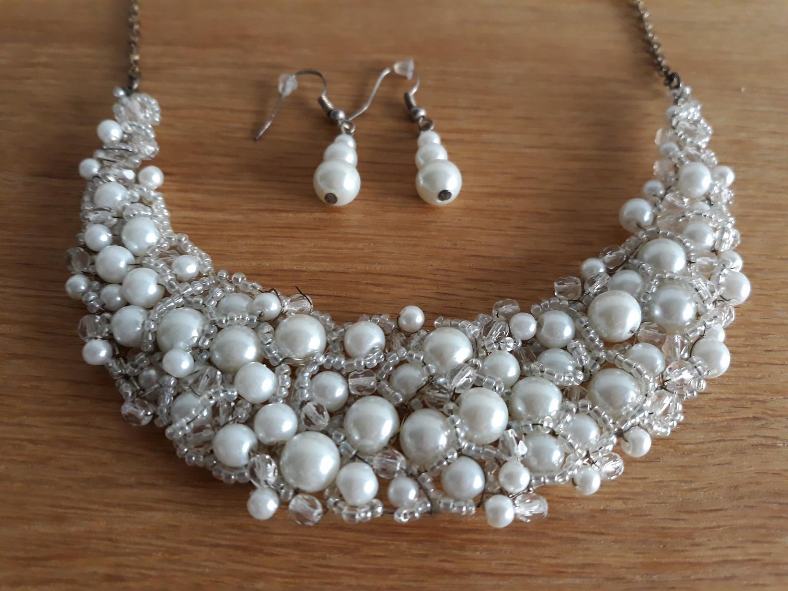 Perlový náhrdelník - Obrázok č. 1