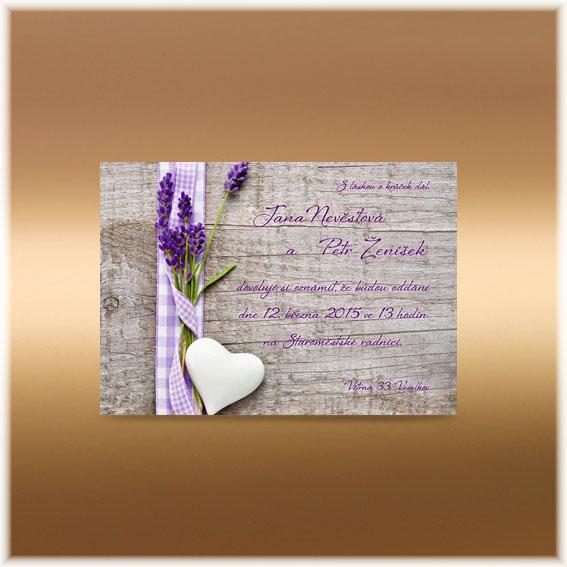Květinová přírodní oznámení - Obrázek č. 56