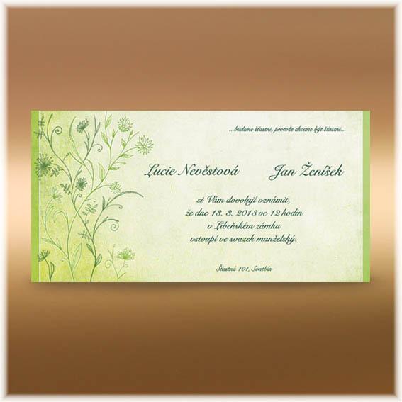 Květinová přírodní oznámení - Obrázek č. 99