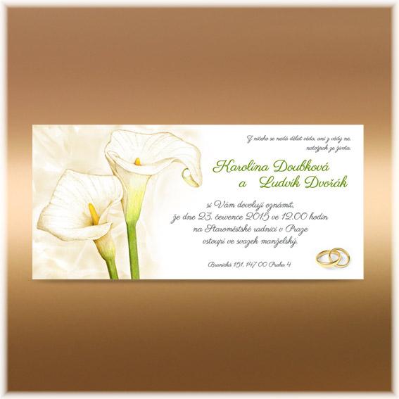 Květinová přírodní oznámení - Obrázek č. 100