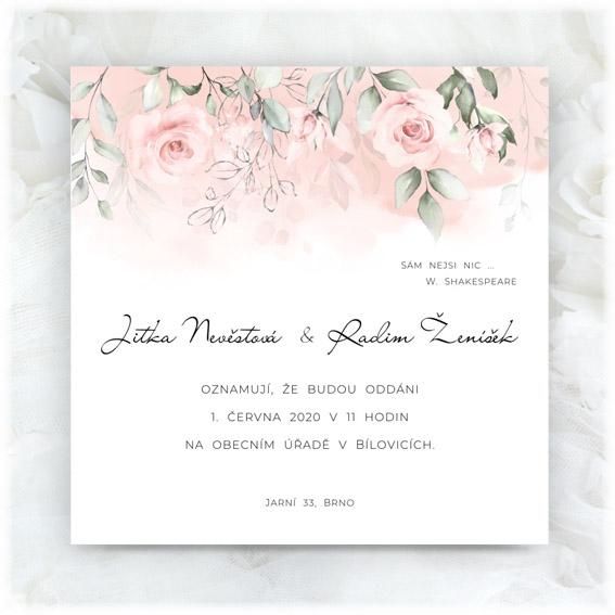 Také už chystáte Vaši jarní svatbu? - www.svatebni-oznameni-printia.cz