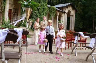 dokonalé místo pro svatbu ... musím pořádně hledat :)