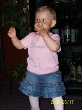 naše zlatíčko Lilianka