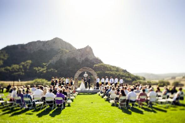 Přírodní svatba - Fotografie skupiny