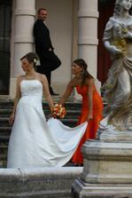 v tom oranžovom som já (sestra)