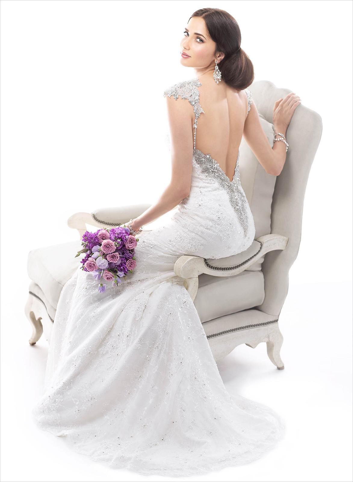 73cfed72d997 Šaty s holým chrbtom - - Svadobné šaty