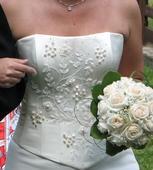 Svadobné šaty 36 - 38, 37