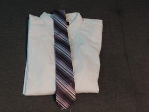 košile s kravatou pro ženicha :-)