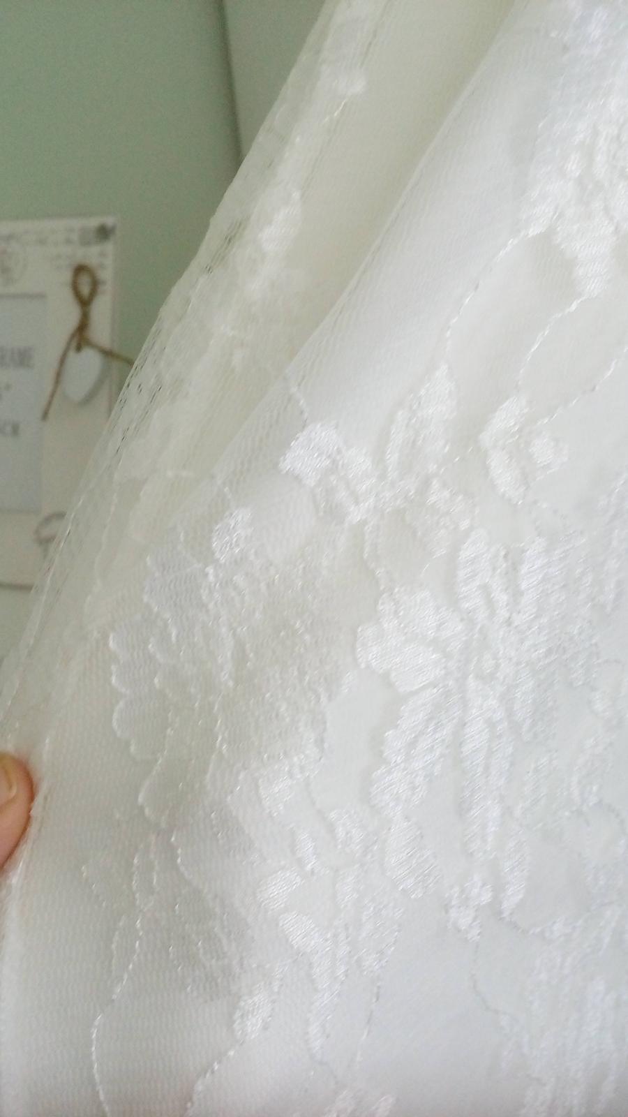 Tehotenské svadobné šaty - Obrázok č. 4