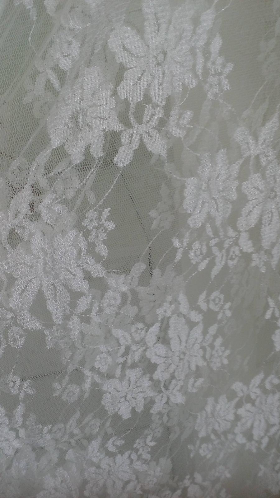 Tehotenské svadobné šaty - Obrázok č. 3