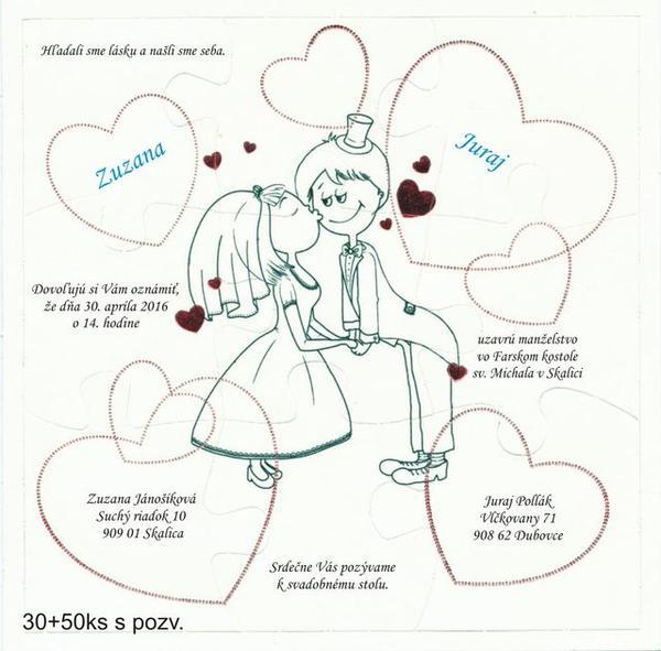 968633dcaf Ukážte Vaše svadobné oznámenia - - Svadobné oznám... - str. 12
