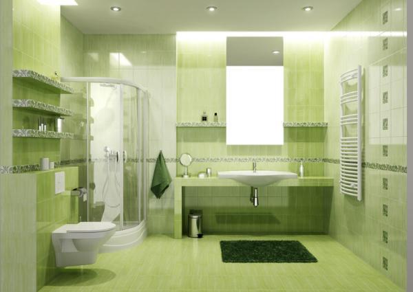 Náš domček - horná kúpelňa bude asi zelená
