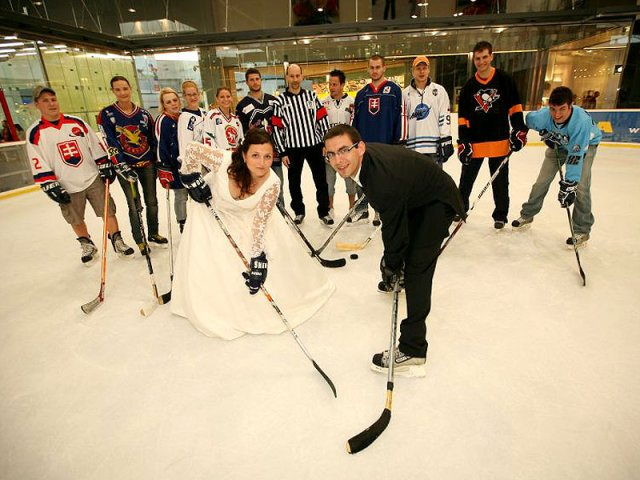 Nina Taska{{_AND_}}Martin Tasky - ked sa beru dvaja hokejisti....