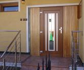 Vchodové dvere s HPL dvernou výplňou GAVA 751