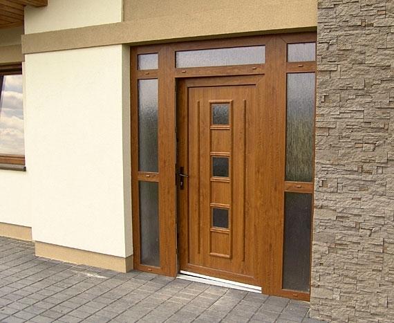 gavaplast_vchodove_dvere - Vchodové dvere s plastovou dvernou výplňou GAVA 171