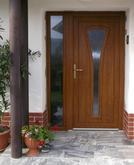 Vchodové dvere s plastovou dvernou výplňou GAVA 271
