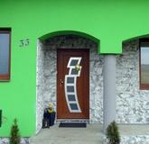 Vchodové dvere s HPL dvernou výplňou GAVA 892L