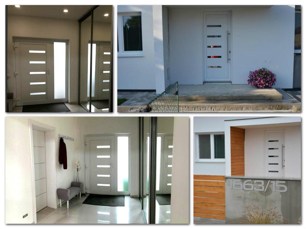 gavaplast_vchodove_dvere - Vchodové dvere s HPL dvernou výplňou GAVA 916