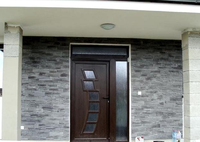 gavaplast_vchodove_dvere - Vchodové dvere s plastovou dvernou výplňou GAVA 292