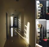 Vchodové dvere s obojstranne predsadenou hliníkovou dvernou výplňou GAVA 587