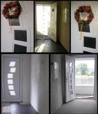 Vchodové dvere s plastovou dvernou výplňou GAVA 292
