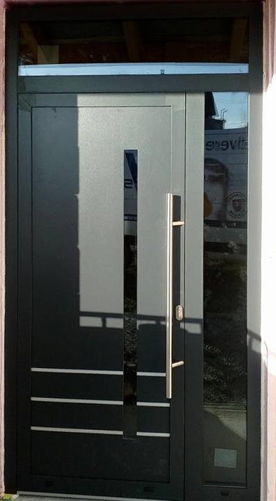 Vchodové dvere s HPL dvernou výplňou - Vchodové dvere s HPL dvernou výplňou GAVA 919