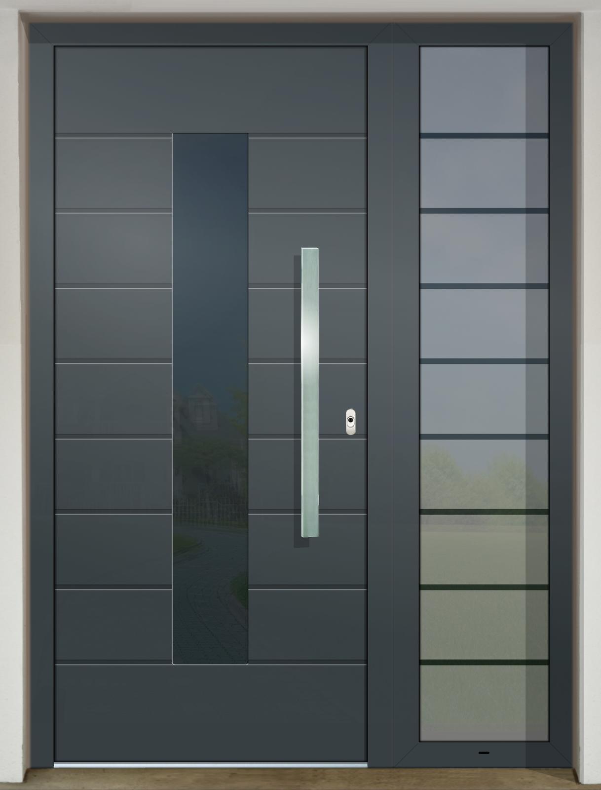 Vchodové dvere GAVA s prísvetlíkom - GAVA 418 FD