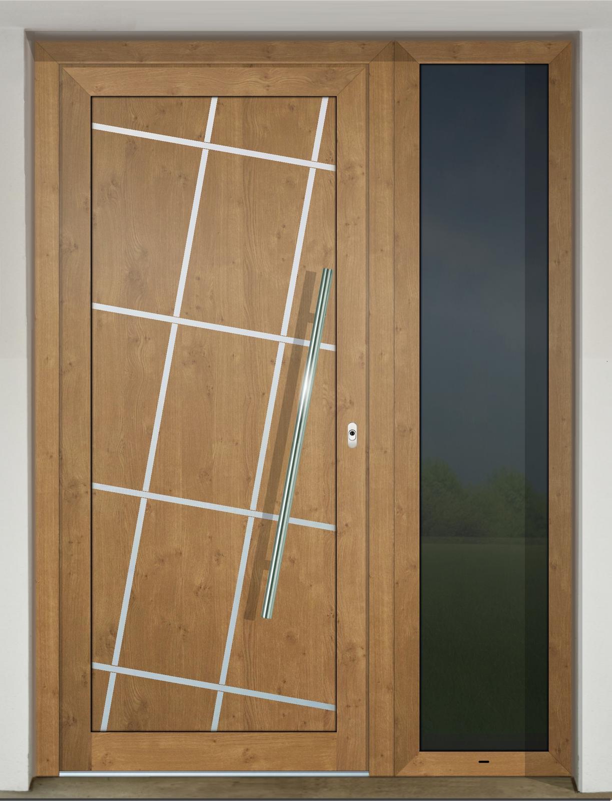 Vchodové dvere GAVA s prísvetlíkom - GAVA 670