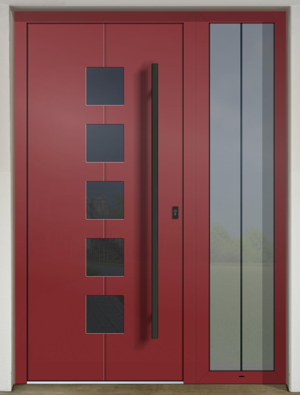 Vchodové dvere GAVA s prísvetlíkom - GAVA 426 FD