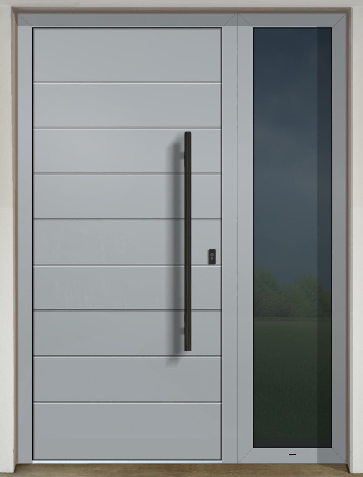 Vchodové dvere GAVA s prísvetlíkom - GAVA 400 FD