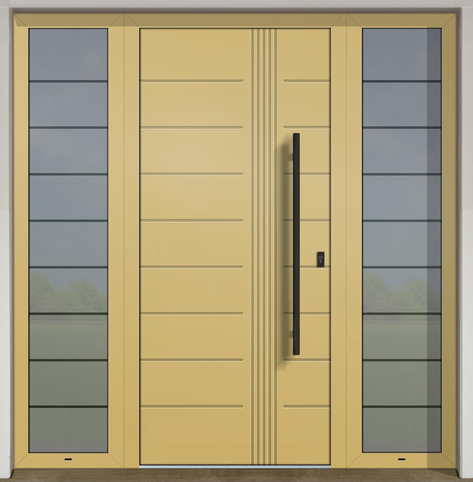 Vchodové dvere GAVA s prísvetlíkom - GAVA 403 FD