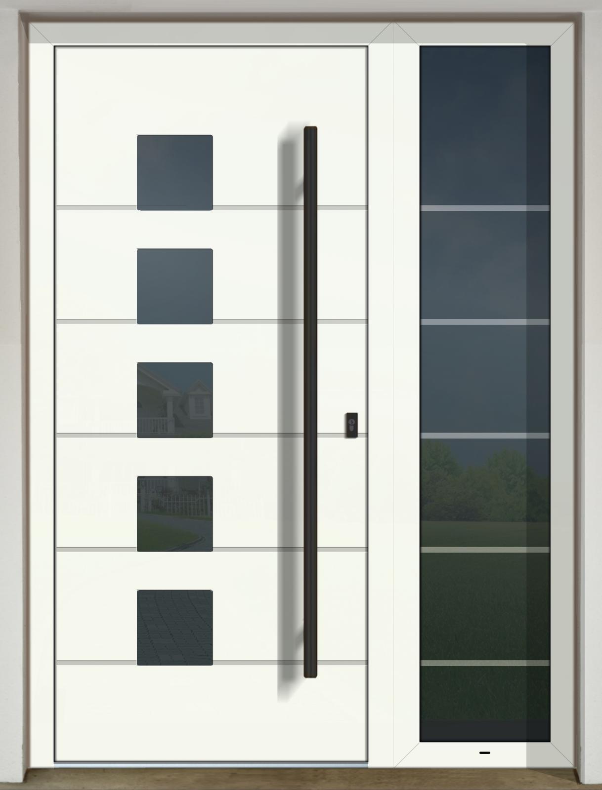 Vchodové dvere GAVA s prísvetlíkom - GAVA 428L FD